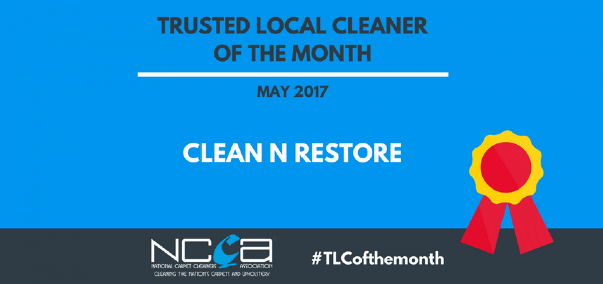 Trusted Local Cleaner for May - Clean N Restore