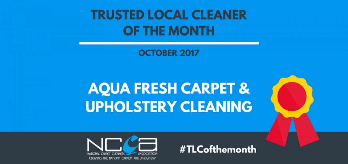 Trusted Local Cleaner for October - Aqua Fresh Floor Care