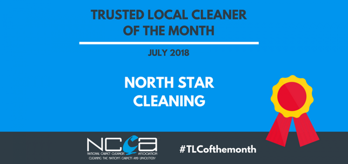 Trusted Local Cleaner for July 2018 - North Star Cleaning